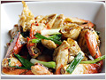 Ginger Scallion Crab