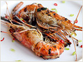 Pan-fried Prawn