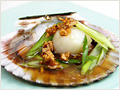 Soy Sauce Scallops