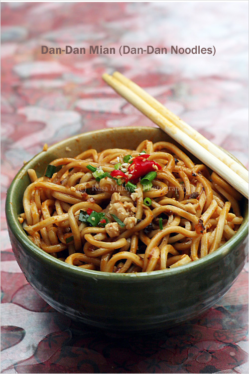 Dan Dan Noodles (Dan Dan Mian/担担面)
