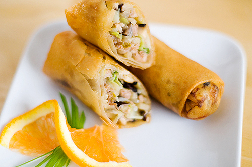 Egg rolls are a popular Chinese appetizer, and this recipe makes for the best egg rolls. There's even a step-by-step picture guide!