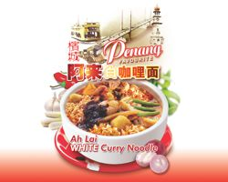 Penang Ah Lai White Curry Noodles Giveaway
