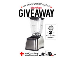 Blendtec Giveaway (2 Winners!)