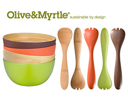Olive and Myrtle Bamboo Set Giveaway (CLOSED)