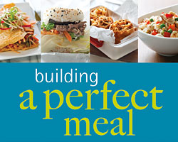 Building a Perfect Meal Cookbook Giveaway (CLOSED)