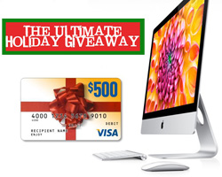 iMAC 21.5″ + $500 Cash Card Giveaway (CLOSED)