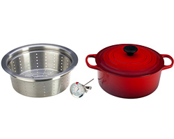 Le Creuset Simmer, Steam, Fry Set Giveaway (CLOSED)