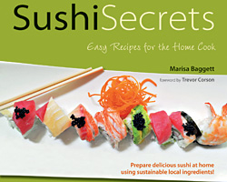 Sushi Secrets Cookbook Giveaway (CLOSED)