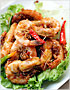 Satay Prawns (Prawns with Spicy Peanut Sauce) Recipe