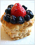 Strawberry and Blueberry Tarts Recipe