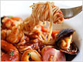 Angle Hair Pasta with Seafood