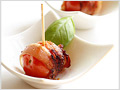 Bacon Wrapped Cherry Tomatoes