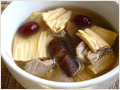 Bean Curd Sticks and Pork Ribs Soup