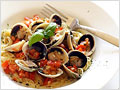 Capellini with Cockle Clams