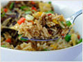 Carribean Chicken Fried Rice