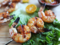 Lemongrass and Sriracha Grilled Shrimp