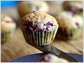 Mini Raspberry Muffins