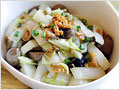 Stir Fried Napa Cabbage