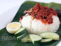 Nasi Lemak Recipe (Malaysian Coconut Milk Rice with Anchovies Sambal)