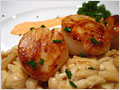 Scallops with Spicy Sauce