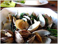 Clams with Basil