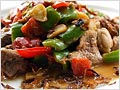 Stir-fried Pork with Cincaluk (Heh Ya Kay Char Bak)