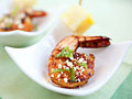 Tamarind Shrimp and Pineapple Skewers