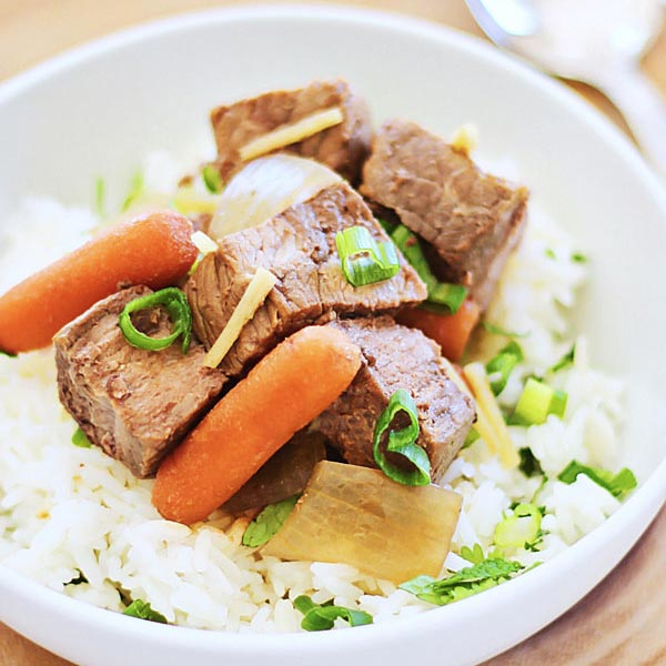 Crock Pot Asian Beef Ste