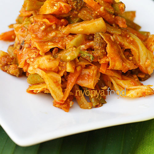 Acar Awak  Recipe (Nyonya Spicy Mixed Vegetable Pickle) | rasamalaysia.com