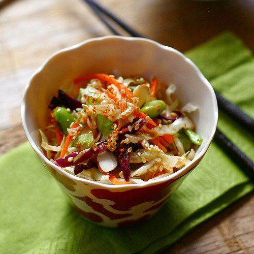 vinaigrette warm asian potato salad with sesame fresh chile dressing ...
