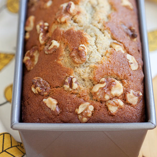 Banana Bread (Banana Cake) Recipe