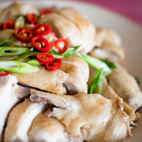 Ipoh Bean Sprout Chicken (芽菜鸡)