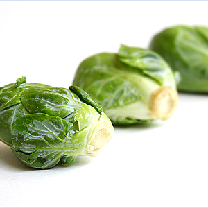 Stir-fried Brussels Sprout Recipe with Dried Sole