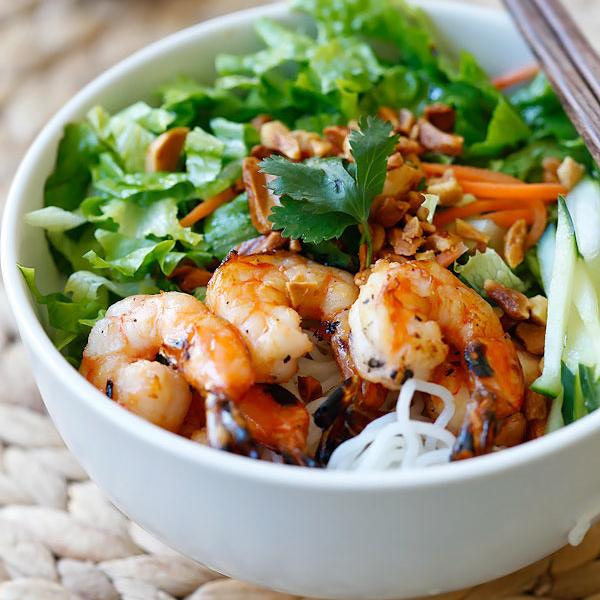 Vietnamese BBQ Shrimp Vermicelli