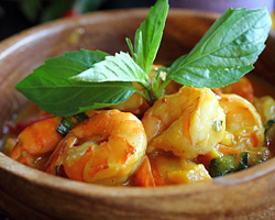 Cambodian Lemongrass Shrimp