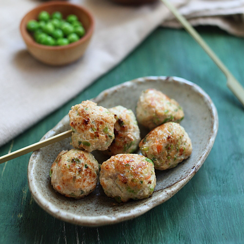 Juicy Chicken Meatballs