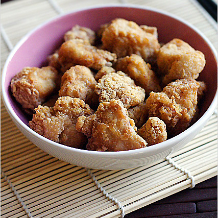 Chicken Karaage (Sesame Fried Chicken) Recipe
