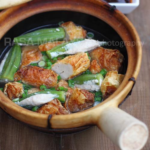 Clay Pot Yong Tau Foo (Yong Tow Foo)