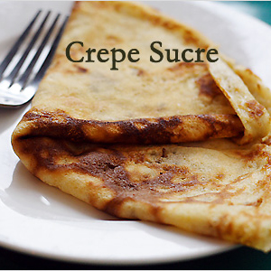 Crepe Sucre (Sweet Crepe)