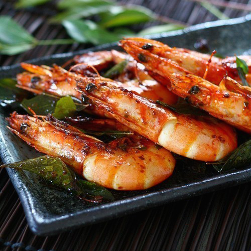 Shrimp with Curry Leaves recipe - The curry leaf is one of the many ...