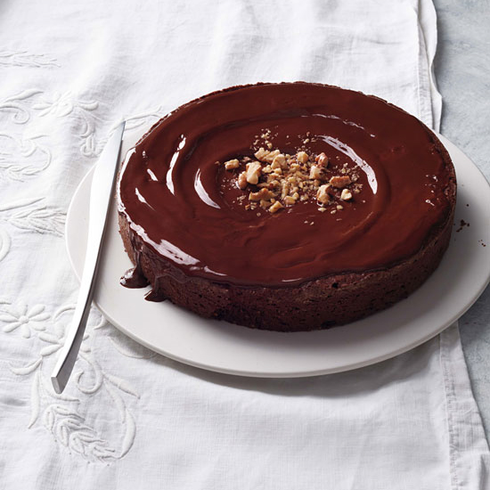 Flourless Chocolate Walnut Torte