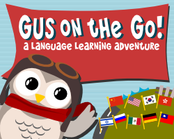Gus on the Go Language App