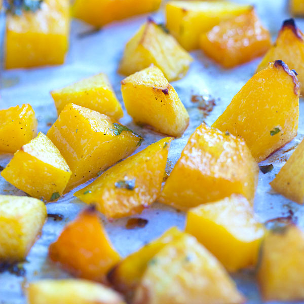 Honey Roasted Butternut Squash