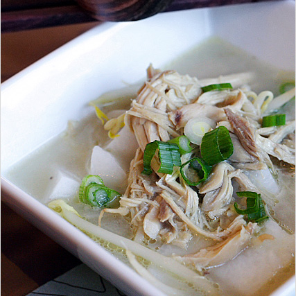 To kick up the flavor of the traditional Soto Ayam, this variation is infused with coconut milk and more spices. Serve hot with lime wedges. | rasamalaysia.com
