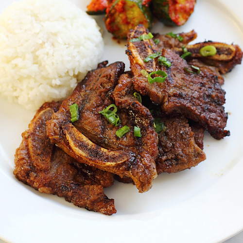 Kalbi | Korean Kalbi Recipe