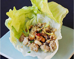 Lettuce Wraps Recipe (Lettuce-wrapped Chicken)