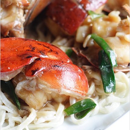 Lobster Yee Mein (Lobster Noodles) Recipe