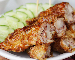 Loh Bak Recipe (Five-Spice Pork Roll/卤肉)