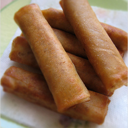 Lumpia (Filipino Spring Rolls) Recipe