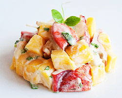Lobster Recipe: Mango and Lobster Salad